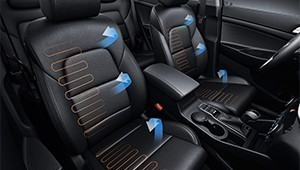 Seat heating and ventilation